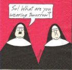 SISTER CATHERINE KICKS THE HABIT Old habits are hard to break, but I'm tryin'!